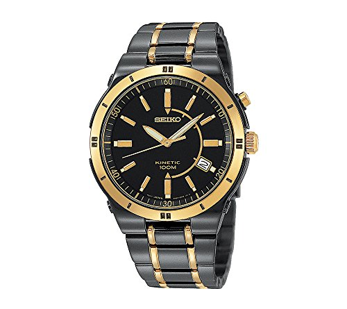 Seiko-Mens-Two-Tone-Kinetic-Dress-Watch