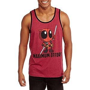 Marvel Deadpool Mens Maximum Effort Tank Top (XX-Large 50/52)