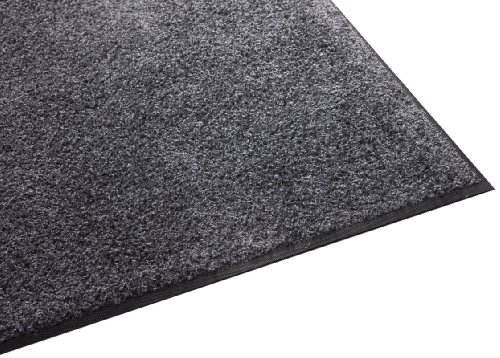 Guardian Platinum Series Indoor Wiper Floor Mat, Rubber with Nylon Carpet, 6'x6', Grey by Guardian
