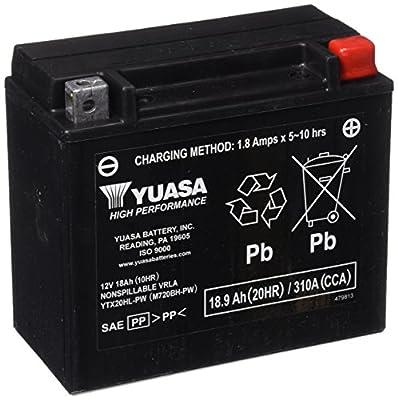 Yuasa YUAM720BH-P YTX20HL-PW Battery