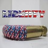 Liberty Paracord 40 Caliber Bullet Casing Bracelet