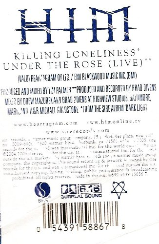 Killing Loneliness / Under the Rose (Live)