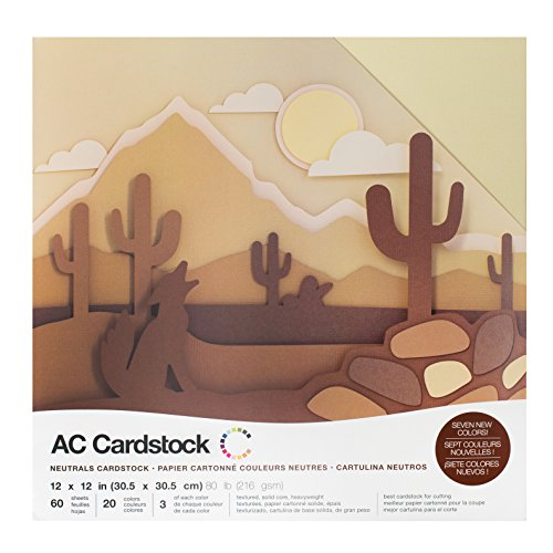 American Crafts Cardstock Pack - 2