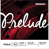 D'Addario Prelude Viola String Set, Long Scale, Medium Tension