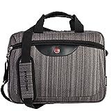 Swiss Gear 15.6-Inch Laptop Case, Grey, Under Seat