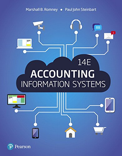 134474023 – Accounting Information Systems (14th Edition)