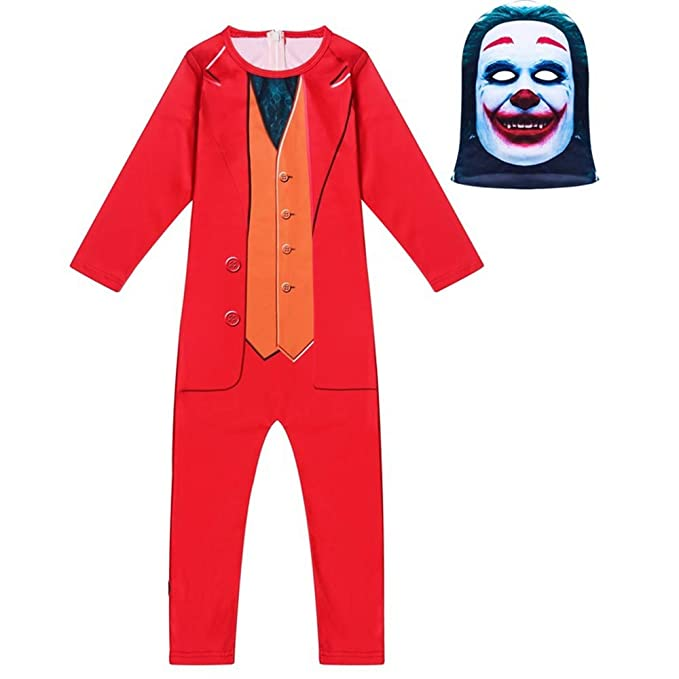 Tanwenling33 Disfraz de Joker para Niños 6 7Años 2019 ...