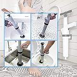 Toilet Plunger, Air Power Bathroom Plunger, High