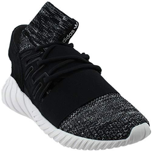 adidas Men's Tubular Doom PK Originals Cblack/Granit/Vinwht Running Shoe 9 Men US
