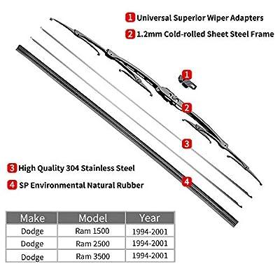 For Dodge Ram Windshield Wiper Blades - 20