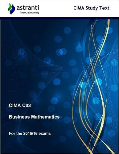 CIMA C03 STUDY TEXT PDF DOWNLOAD
