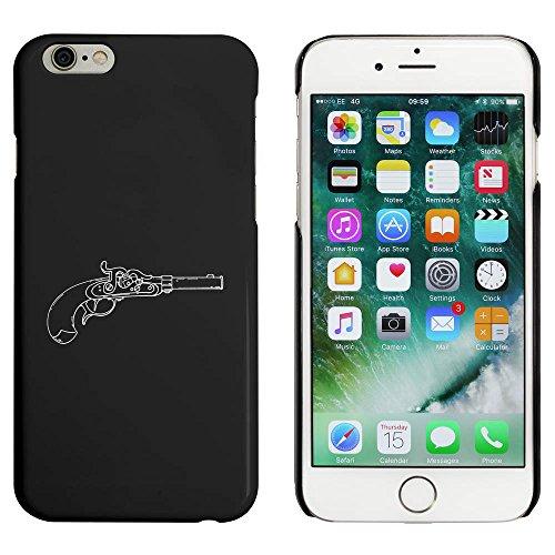 Noir 'Pistolet Antique' étui / housse pour iPhone 6 & 6s (MC00036841)