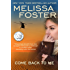 Come Back To Me (Romantic Suspense)