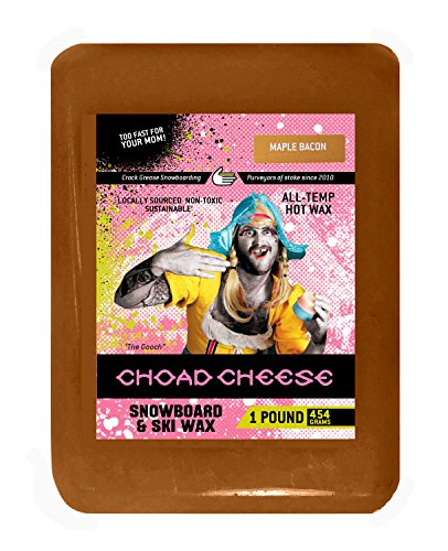 Choad Cheese Snowboard and Ski Wax, Maple Bacon Scent- 1 Pound (Bulk Snowboard Wax compare prices)
