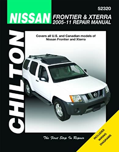 chilton total car care nissan frontier xterra 2005 2011 repair rh amazon com 09 Nissan Xterra Aftermarket Radios 09 Nissan Xterra Aftermarket Radios