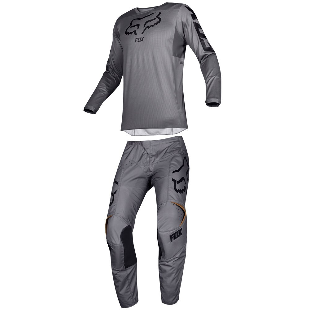 Fox Racing 2019 180 PRZM Jersey and Pants Combo Offroad Gear Set Adult Mens Stone Medium Jersey/Pants 36W