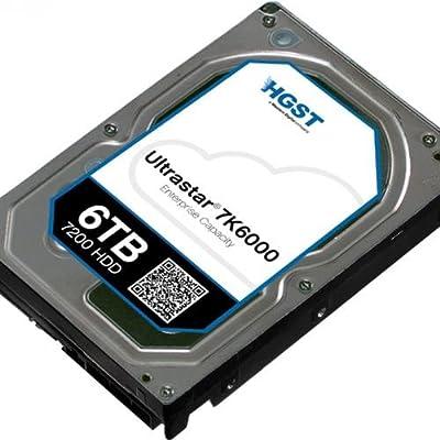 HGST, a Western Digital Company ULTRASTAR 7K6000 2000GB 7200RPM SAS 4KN ULTRA ISE 128MB Cache 3.5-Inch Internal Bare or OEM Drives 0F22798