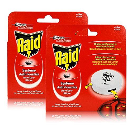 2x Raid Ameisen-Köder - Für den Innen- und Außenbereich