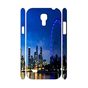 Custom Natural Scenery Series Sky Wheel,Night Light Photographic Hard Plastic Phone Skin for Samsung Galaxy S4 Mini I9195 Case