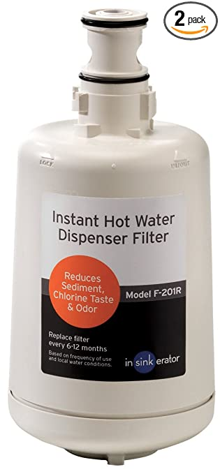 InSinkErator F 201R Replacement Water Filter Cartridges For Water  Filtration Systems And Hot Water Dispensers