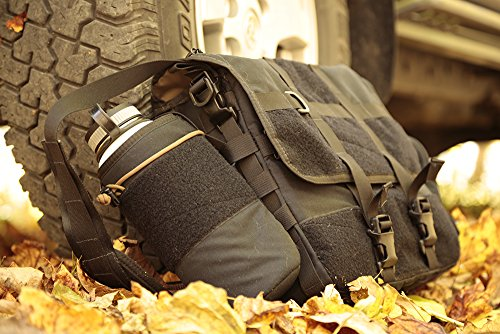 Got to Go Bag (Black) | Made In USA, Overland Off-Road Car Camping Gear by Blue Ridge Overland Gear (Image #8)