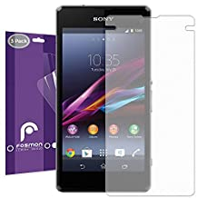 Fosmon® Sony Xperia Z1 Compact (Anti-Glare (Matte)) Screen Protector Shield Flim - 3 Pack - Fosmon Retail Packaging
