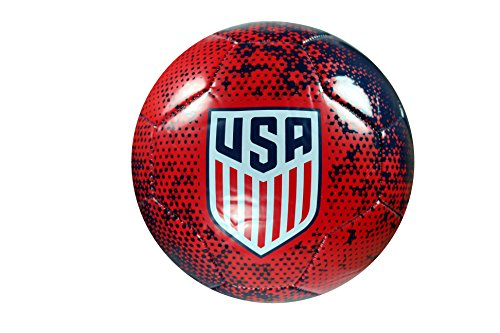 Icon Sport Group USSF USA Authentic Official Licensed Soccer Ball Size 5-01-1 (Usa Official Soccer Ball)