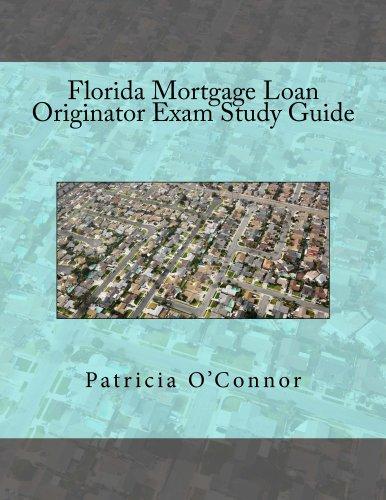 Florida Mortgage Loan Originator Exam Study Guide Pdf