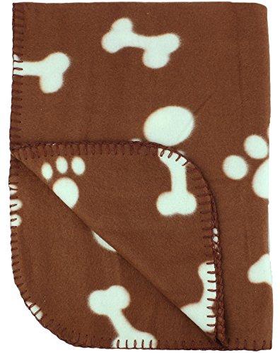 30x21 Inch Dog Fleece Blanket