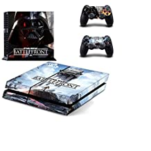 STAR WARS ALL EPISODES, ALL HEROES Exclusive PS4 Sticker Skin for PlayStation 4 (BATTLEFRONT - DARTH VADER)