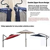 DINHAND Outdoor Patio Table Umbrella Mosquito