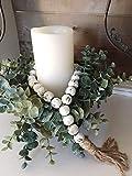 White Chippy Farmhouse Beads