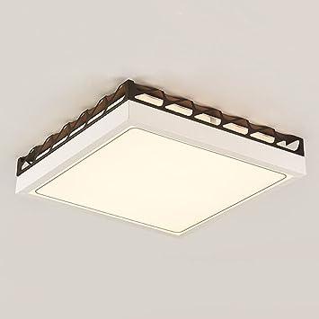 GJM Shop luz de techo --- Cuadrado Cuerpo De La Lámpara De ...