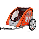 Instep Robin Two Seat Portable Bike Trailer for Children or Pets