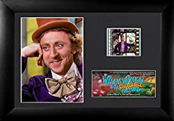 Film Cell Genuine 35mm Framed & Matted Willy Wonka and the Chocolate Factory Gene Wilder USFC6334 (S4)