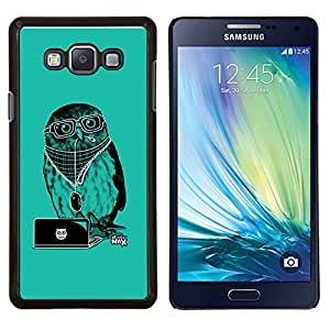 LECELL--Funda protectora / Cubierta / Piel For Samsung Galaxy A7 A7000 -- Enfriar Party DJ Búho --