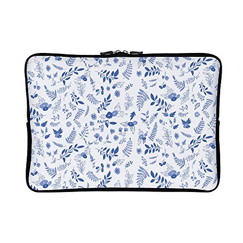 DKISEE Abstract Pattern 11 Neoprene Laptop Sleeve Case Waterproof Sleeve Case Cover Bag for MacBook/Notebook/Ultrabook/Chromebooks