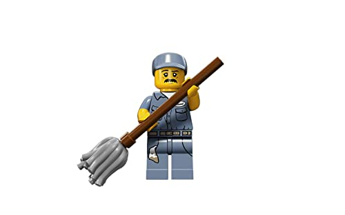 Lego Series 15 Minifigures 71011 (Lego Series 15 Janitor)