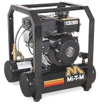 mi-t-m am1-hs45 - 05 M mano llevar Compresor De Aire, 5-Gallon, una sola etapa con gasolina: Amazon.es: Amazon.es