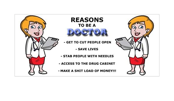 reasons to become a doctor