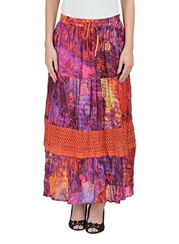 Breeze A FP721 Line Skirt Free Multi Women's Color Cotton Size AHdUEqq