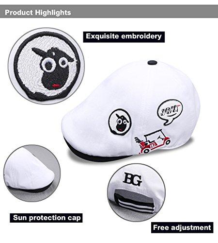 BG Lightweight Golf Cap for Women Summer Cap Sports Golf Running Tennis Hat Golf Bere Caps by BG (Image #1)