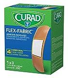 Curad Flex Fabric Adhesive Bandages, Bandage Size