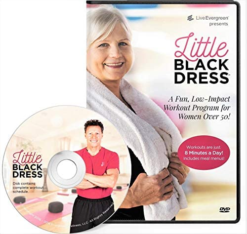 Evergreen Wellness Workout Challenge DVD for Beginners and Seniors | The Low Impact, Indoor Walking Full Body Exercise Program for Women and Men 1