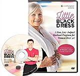 Evergreen Wellness The Little Black Dress Workout DVD for Beginners and Seniors - Low Impact Full Body Exercise Program for Women