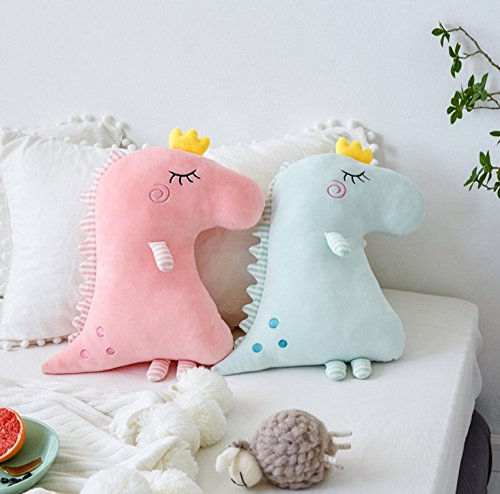 mywaxberry New Dinosaur Pillow Down Cotton Sleeping Doll Plush Toy Doll (blue) by mywaxberry (Image #2)