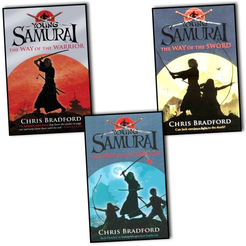Young Sumarai Chris Bradford 3 Books Collection Pack Set