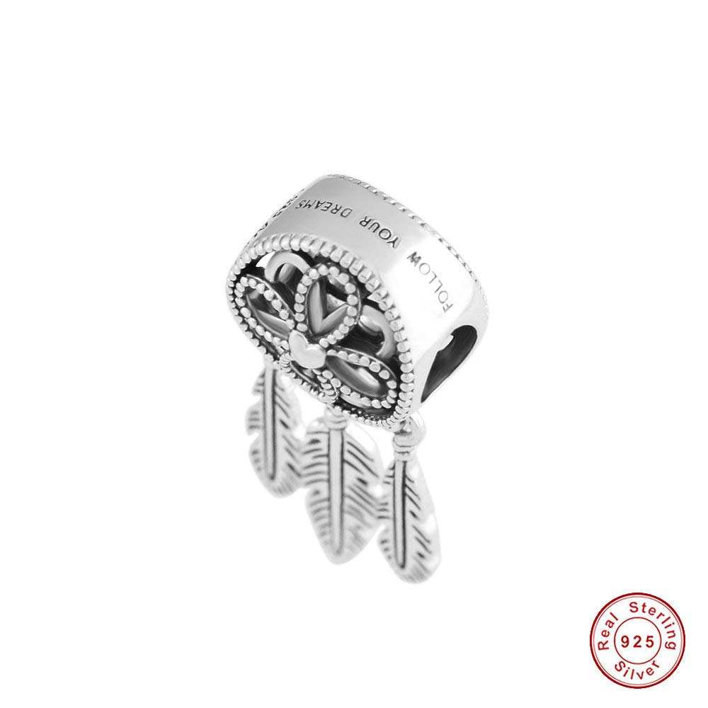 3f82dfc0b MOCCI 2018 Summer Spiritual Dream Catcher Dangle Bead 925 Silver DIY Fits  for Original Pandora Bracelets Charm Fashion Jewelry: Amazon.co.uk: Kitchen  & Home