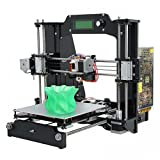 WER® Prusa Mendel I3 X 3D Printer Unassembled Full Kit Acrylic Frame Office Reprap Desktop Computer Printer Printers WER