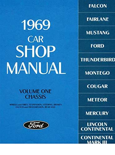 1969 Car Shop Manual (Volume I-V)